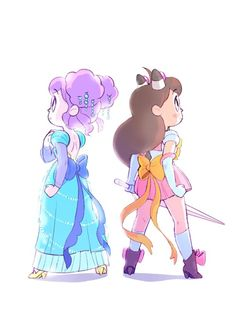 This is 1/4 Bee and PuppyCat fanart, 1/4 Sailor Moon fanart and at least 1/2 fanart for the way Natasha Allegri draws bows and girls in heels.