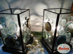 Conjunto Lámparas de cristal diseño realizada por ElRincondeMindaia