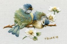 Beautiful birds by Trish Burr