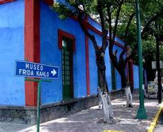 Frida's house in Coyoacan