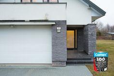 Encuentra nuestro Esmalte 100® en acabado mate, satinado y brillante. Ideal para mantener tu portón del garage en buen estado.  #ProductosComex #Comex #House #DIY #Deco