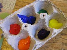 16 idées qui tiennent du génie pour recycler les boîtes d'oeufs
