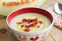 Sopa fria de melon con jamon www.cocinandoentreolivos.com (1)