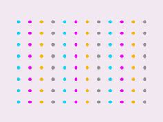 dots and circles animation - looping gifs - motion design inspiration -   Mark Pearson - Dots14.0