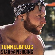 Piercing, Flesh Tunnel, Star Wars, Plugs, One Color, Pierced Earrings, Piercings, Starwars, Peircings