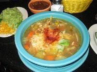 Pappasito's tortilla soup recipe -