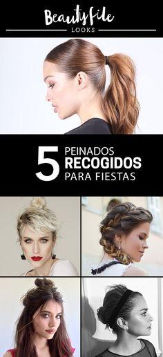 Ideas de peinados recogidos ideales para fiestas. Hair, Ideas, Hair Care, Hair And Beauty, Trending Hairstyles, Updos, Fiestas, Thoughts