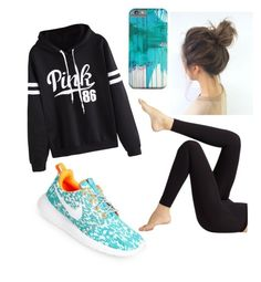 """""""Untitled #69"""" by amontuori on Polyvore featuring NIKE, Wolford and WithChic"""