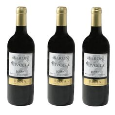 Vin rouge jeune Rioja Baron Rivolta 75Cl - LOT DE 3
