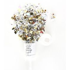 PUSH-POP Confettis glitter paillettes THE ORIGINAL