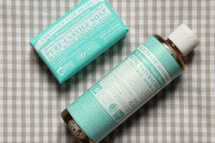 Vegan cosmetics for Kids & Babies DR. BRONNER'S Unscented Baby-Mild Soap *ONCE UPON A CREAM Vegan Beauty Blog*