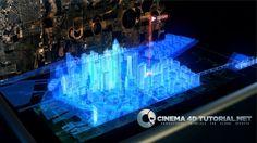 hologram city tutorial DOWNLOAD HERE -> www.cinema4dtutorial.net/?p=2682