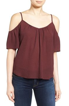 Ella Moss Cold Shoulder Top available at #Nordstrom
