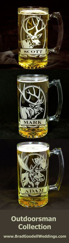 Great personalized gifts for men!    Available at:  The Wedding Gallery by Brad Goodell, www.BradGoodellWeddings.com