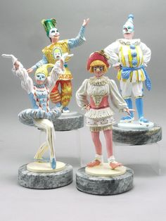 EFX  THEATRICAL CLOWN SCULPTURES VERY RARE  DIRECT FROM RON LEE