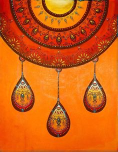 this would be awesome - combination of zendala and dangles!
