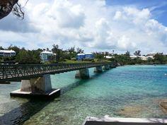 #RailwayTrail foot bridge in Bailey's Bay, #Bermuda