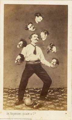 Allain De Torbéchet et Cie - Man Juggling His Own Head (1880)