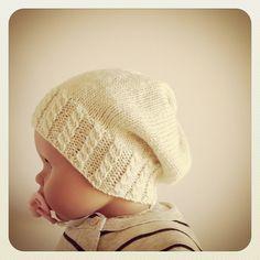 new pattern, byaltadena, baby slouchy hat