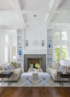 Chesapeake Bay Annapolis Interior Design   Blue & White & Coastal    Pinterest   Interiors