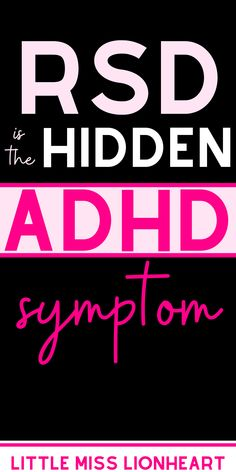 Rejection Sensitive Dysphoria is an ADHD symptom that most of us struggle with, but it's not even in the diagnostic criteria! Crazy right? Because of that, alot of ADHD adults and ADHD kids don't realize that their struggle with overwhelming emotions and sensitivity to criticism is totally an ADHD struggle. Here's what it is and what to do about it. #ADHD #ADHDadult #ADHDWomen #ADHDsolutions #ADHDsymptoms Visual Schedule Preschool, Adhd Facts, Adhd Signs, Night Jobs, Family Nurse Practitioner, Adhd Help, Adhd Strategies, Adhd Symptoms, Adhd And Autism