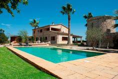 Holiday home Buger Mallorca Villa Spain for rent Sa Rocosa