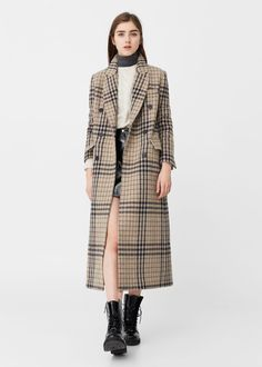 WOMEN UNIQLO U Wool Blend Wrap Coat | Fashion-E-Star