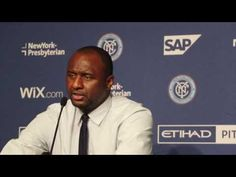 New York City FC Press Conference ~ 6/29