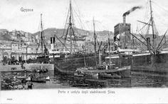 Piroscafo Sempione, Genova, Italy