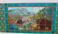 Catalina tile by SuzK100, via Flickr