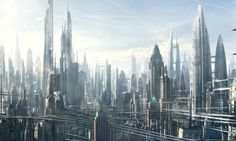 Zoomed-in view of this piece previously posted    by Raphael-Lacoste on deviantART  Architecture & Fantasy | Raphael Lacoste | 1049