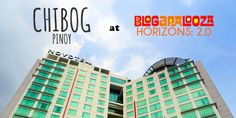 Chibog Pinoy chibogs at Blogapalooza: Horizons 2.0