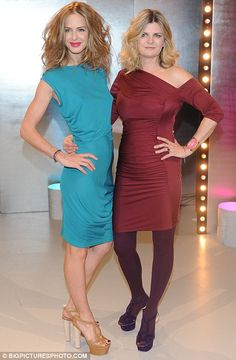 Trinny and Susannah take their brand of fashion advice to Warsaw as they film new TV show Fashion Guide, Fashion Advice, Susannah Constantine, Trinny Woodall, Wool Tights, Newest Tv Shows, Tv Presenters, Fashion Brand, Fashion Design