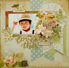 love this - Kaisercraft - Cherry Tree Lane Collection
