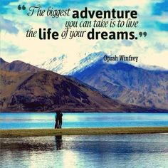 Do you live your life of dreams? #InspirationalQuote