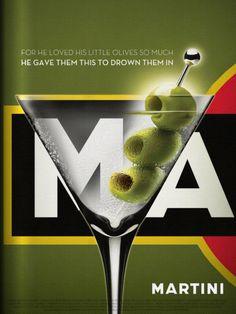 #Martini & Olives