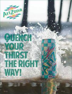 Arizona Iced Tea advertisement I shot and composed Arizona Tea, Iced Tea, Drinking Tea, Ads, Canning, Cool Stuff, Drinks, Photography, Summer