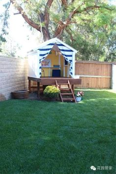 Fun Backyard Kid's Play Fort