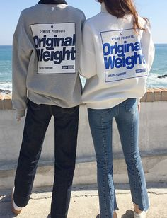 Fleece Lined Loose Fit Lettering Print Sweatshirt by Daily about Graphic Tees, Graphic Sweatshirt, Fall Outfits, Fashion Outfits, Boys Wear, Printed Sweatshirts, Goblin, Cool Tees, Aesthetic Clothes