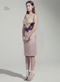 Bella Hadid By Robbie Fimmano For Vogue Australia April 2015- miu miu