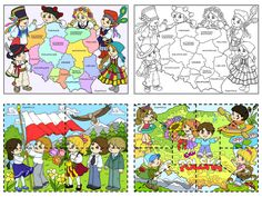 MAJOWE ŚWIĘTA NARODOWE Little Flowers, Kids Education, My Passion, Poland, Folk, Kids Rugs, Quilts, Blanket, How To Plan