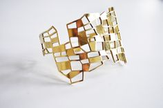 Brass bracelet - Dutch design and nepalese artisan - www.scicche.it