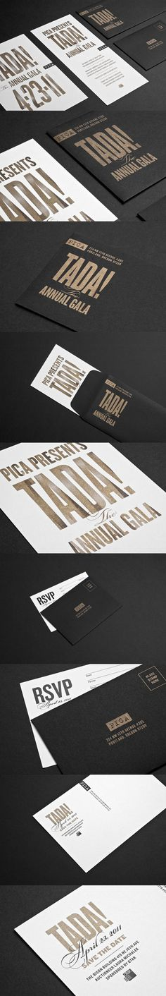 PICA Event Collateral by Tim Kamerer