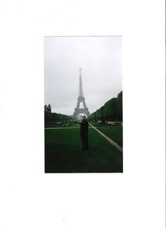 The first time I ever saw The Eiffel Tower ;)