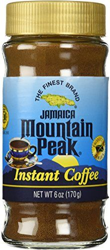 Jamaica Mountain Peak Instant Coffee 6 OZ *** Read more reviews of the product by visiting the link on the image.