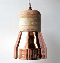 Copper Duo Pendant Light