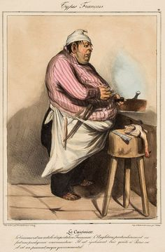 ** Daumier Prints.- - A group of 11 caricature portraits from the 'Types Français' series