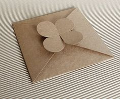 Premium Kraft Envelope , DIY craft envelope x * 20 pcs Origami Envelope, Diy Envelope, Kraft Gift Boxes, Kraft Envelopes, Wedding Card Design, Wedding Cards, Cd Holder, Small Letters, Paper Crafts