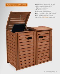 Available in . Storage Shed Plans, Bike Storage, Front Yard Landscaping, Hamper, Outdoor Furniture, Outdoor Decor, Garden Design, Organization, Diy