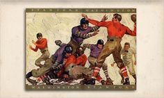 Stanford football game program 1926